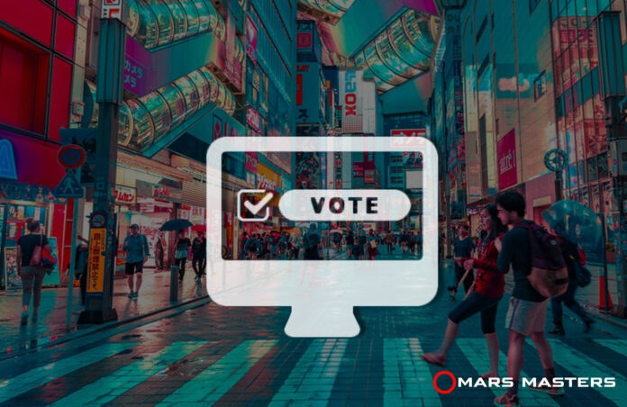 Japanese May Look to Use Blockchain Voting Solution