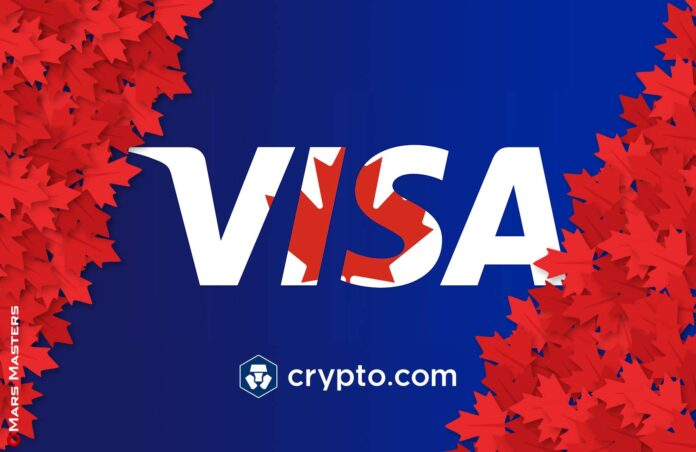 Crypto.com will Launch Visa Cards for Canadians