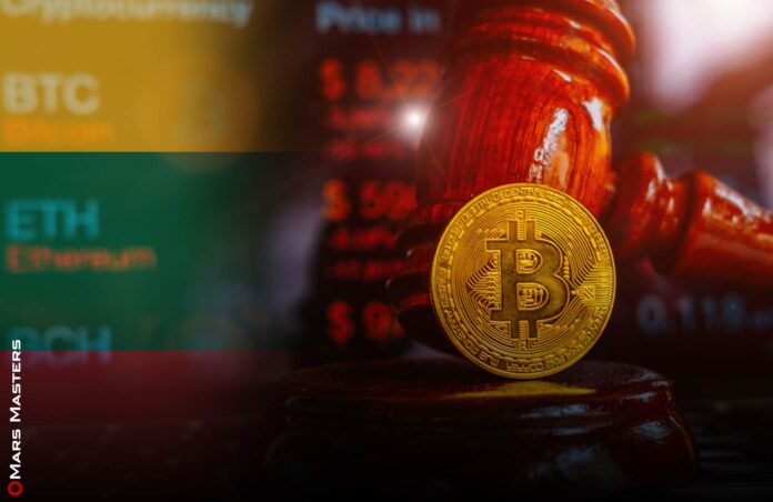 Lithuanian state tax service's first confiscated crypto