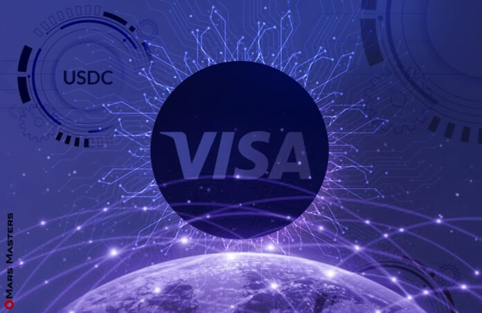 Visa will facilitate USDC payments, thanks to fresh partnership