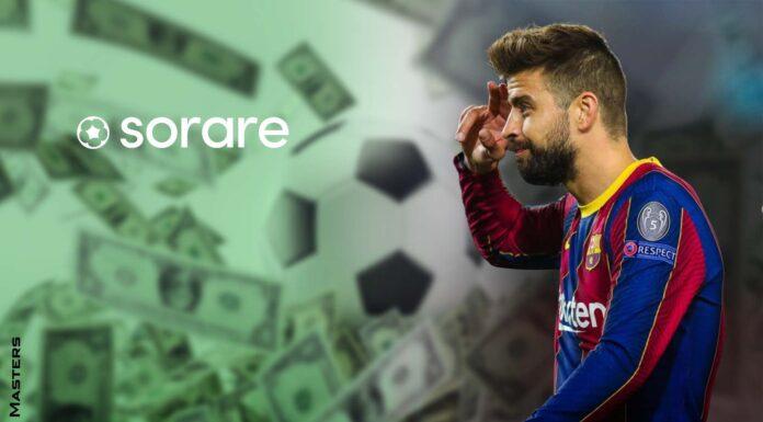 Barcelona FC Player Gerard Piqué Invests in the Sorare Fantasy Football Platform based on Ethereum