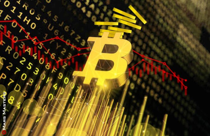 Bitcoin Falls 5% amid increased accumulation by investment