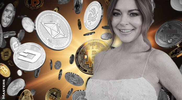 Drive your lambos to the moon says Lindsay Lohan