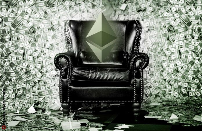 Ether fees almost double