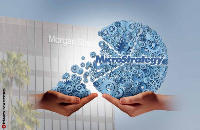 Morgan Stanley holds a 10% stake in MicroStrategy
