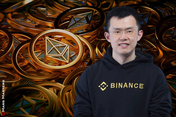 Binance CEO Ethereum is For The Rich Guys, But Soon They'll Be Poor
