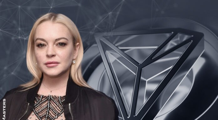 Lindsay Lohan Tweeting About TRON: Is It Time to Take Profits?