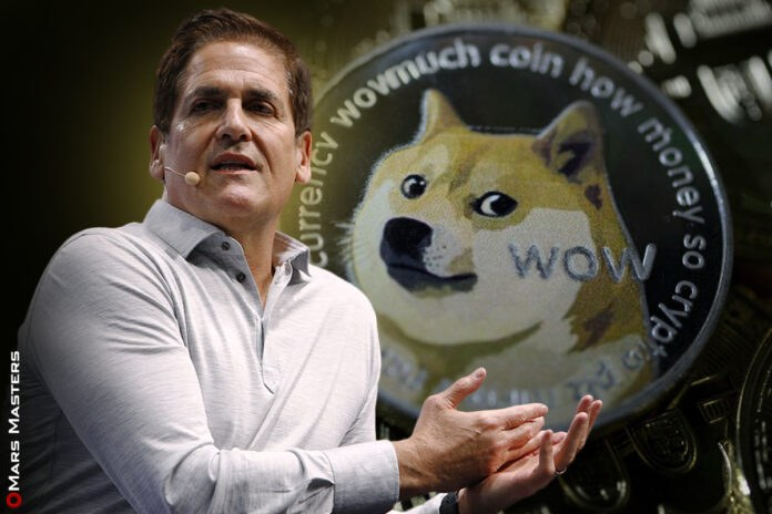 Mark Cuban sees $1 written in DOGE's tea leaves