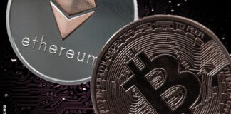 Ethereum Inches Higher, Bitcoin Lower